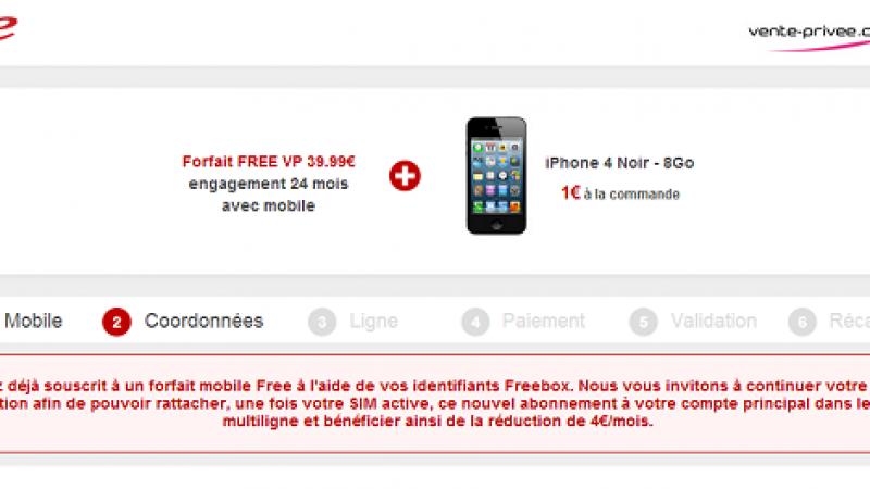 Vente Privée : 2 abonnements à 35,99 € sur la même Freebox sont possibles