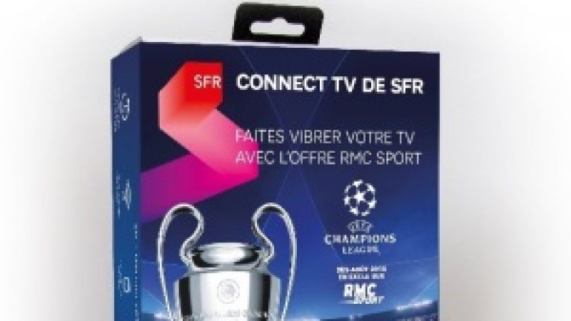 SFR lance Connect TV une nouvelle box OTT pour acceder à ses chaînes de TV, même si vous n'êtes pas abonné SFR