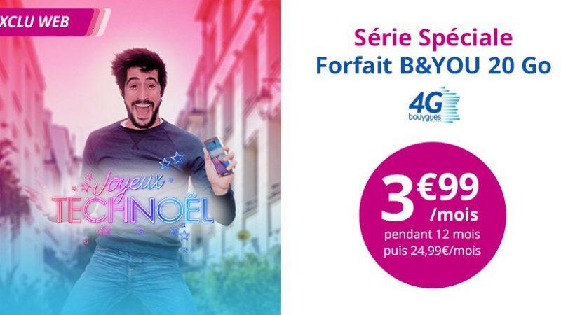 Suite à la 2ème prolongation de la VP Free Mobile, Bouygues Télécom prolonge également son offre
