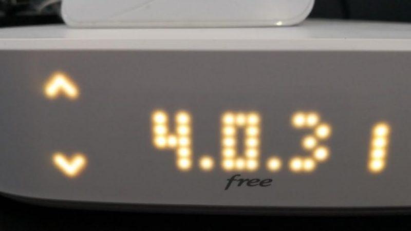 Lancement d'une nouvelle mise à jour du serveur de la Freebox Delta, qui corrige certains bugs