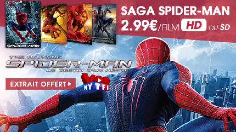 Vidéo Club Freebox : La saga Spider-man en HD au prix de la SD sur MYTF1VOD