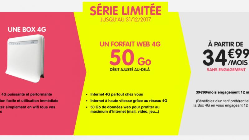 NRJ Mobile emboîte le pas à Bouygues Telecom et Orange en lançant sa box 4G