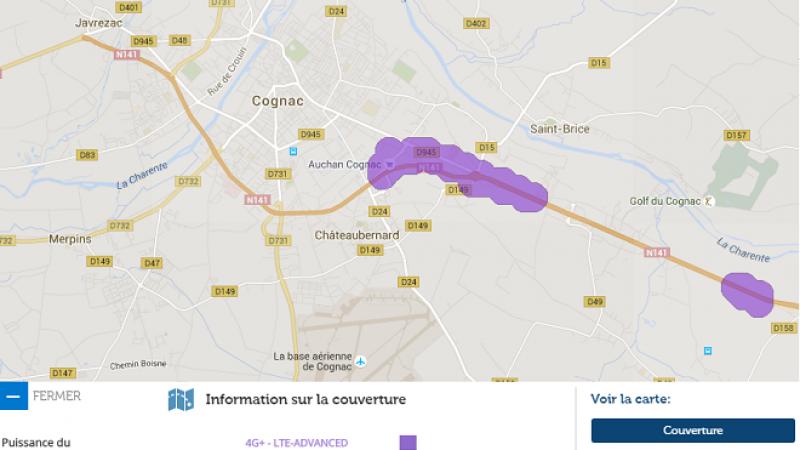 La 4G+ Free Mobile arrive sur la ville de Cognac