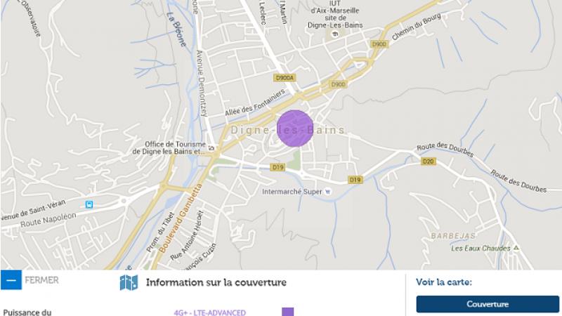 La 4G+ Free Mobile arrive à Dignes les Bains