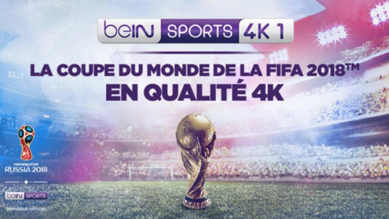Coupe du Monde 2018  : BeIN Sports lance une chaîne en 4K chez Orange et Canal+, Free, SFR et Bouygues sur la touche