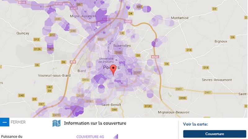 Couverture et débit 4G Free Mobile : Focus sur Poitiers