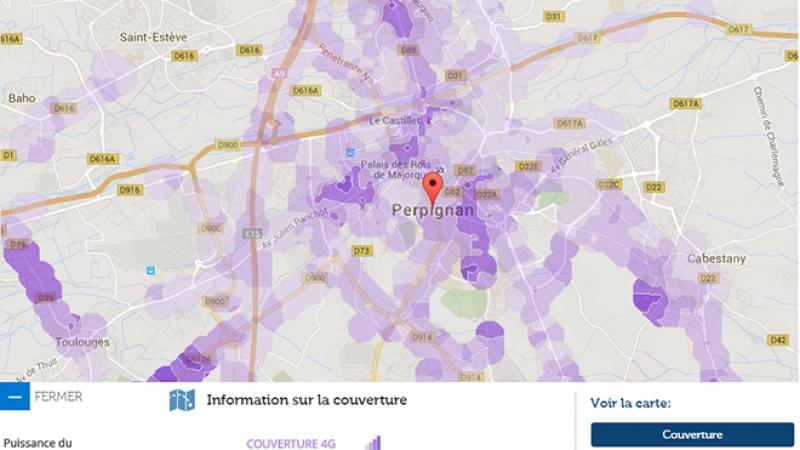 Couverture et débit 4G Free Mobile : Focus sur Perpignan