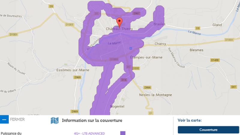 La 4G+ Free Mobile débarque à Château Thierry