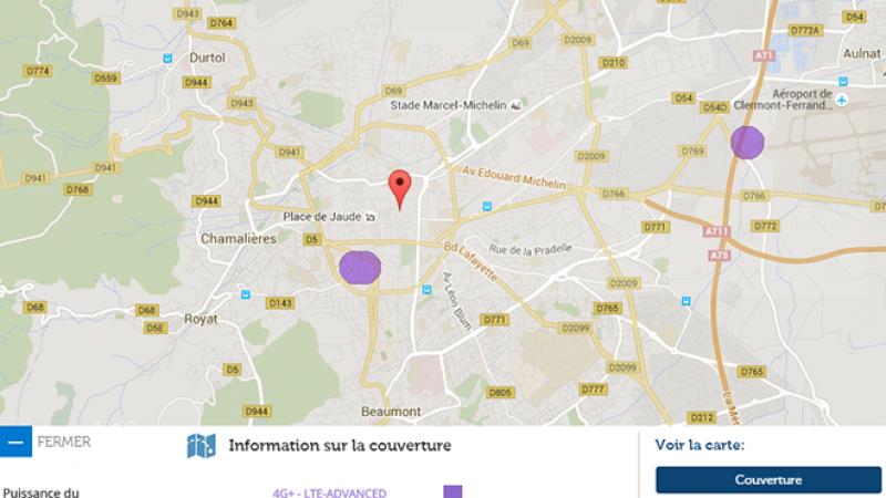 La 4G+ de Free Mobile arrive à Clermont Ferrand