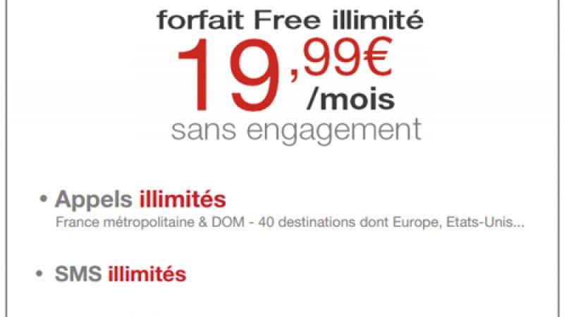 Forfait Free Mobile Illimité : La 4G incluse et 10 Go de fair use ?