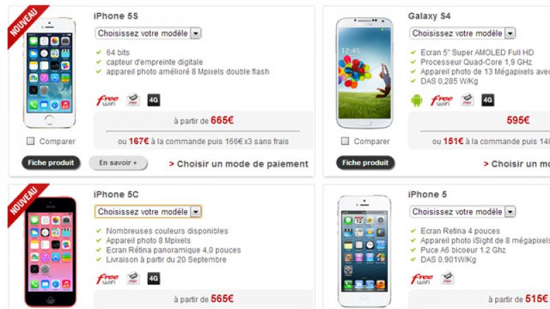 Free Mobile affiche le logo « 4G » dans sa boutique. Le signe d'un lancement prochain ?