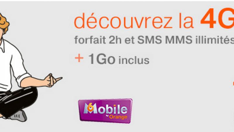 Orange ajoute la 4G à son forfait 2h M6 Mobile