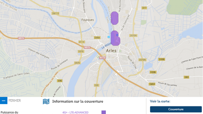 La 4G+ de Free Mobile débarque sur la ville de Arles
