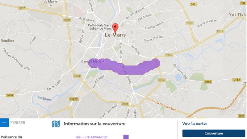 La 4G+ Free Mobile débarque sur la ville du Mans