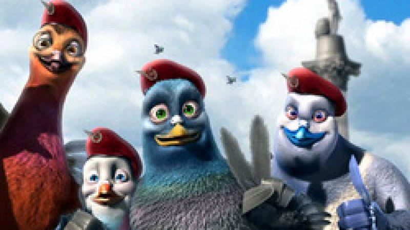 [Animation] Vaillant pigeon de combat !
