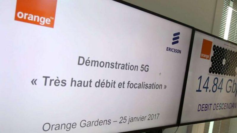 Orange et Ericsson ont atteint 15 Gbit/s lors d'une démonstration publique de 5G