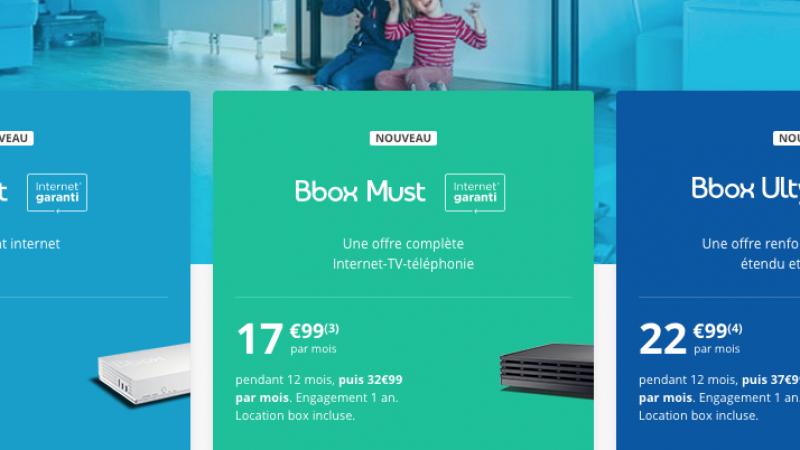 C'est parti pour la nouvelle gamme d'abonnements fibre et ADSL de Bouygues Telecom