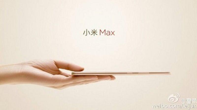Xiaomi dévoile des photos du prochain Mi Max