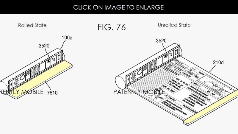 Samsung réfléchit à une tablette OLED dépliable