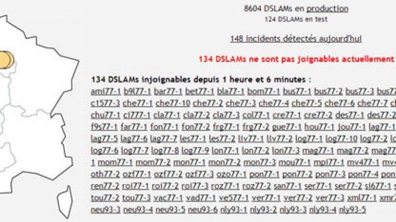 [MàJ] Freebox : Important problème réseau en Ile de France