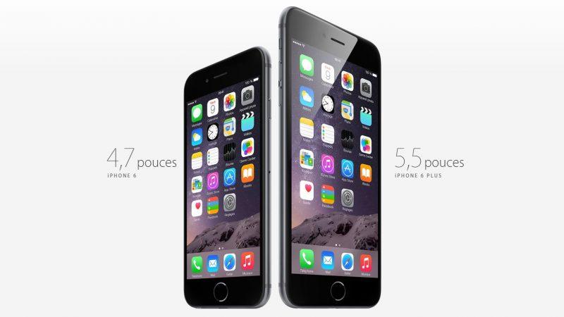 Les écrans des iPhone 6 et 6 Plus laissent tomber leurs utilisateurs