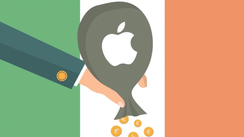 """Apple rembourse une première partie des 13 milliards """"d'aides d'Etat illégales"""" accordées par l'Irlande"""