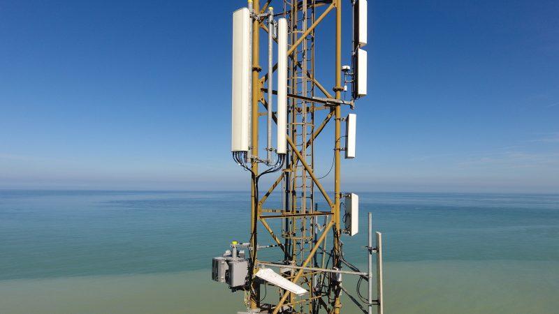 Free Mobile : Reportage-photos antennes sur les falaises de la Côte d'Albâtre
