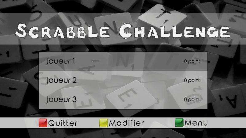 """""""Scrabble Challenge"""", un nouveau jeu pour jouer entre amis, débarque sur la Freebox Révolution"""