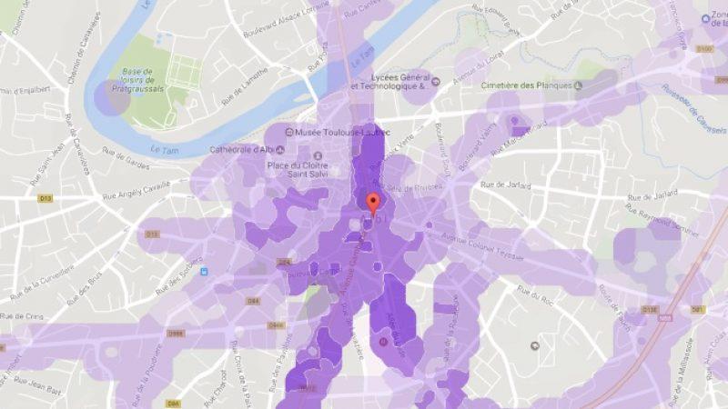 Couverture et débit 4G Free Mobile : Focus sur Albi