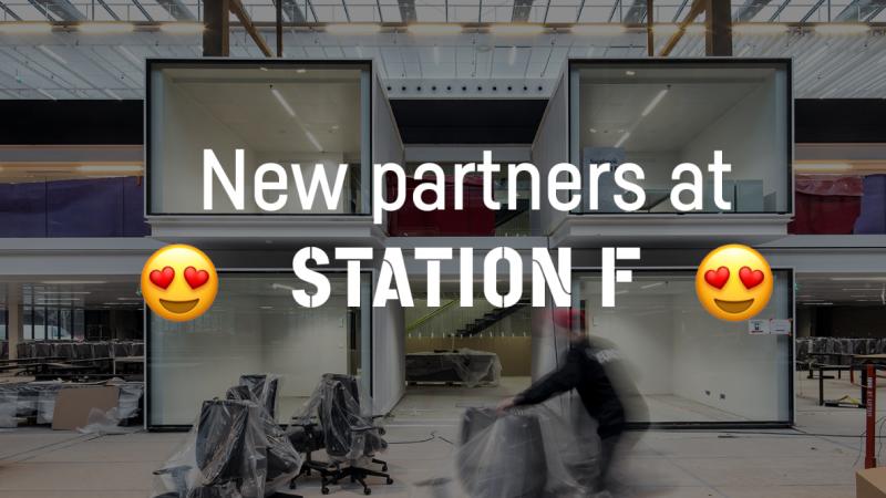 STATION F annonce une pléiade de nouveaux partenariats et programmes