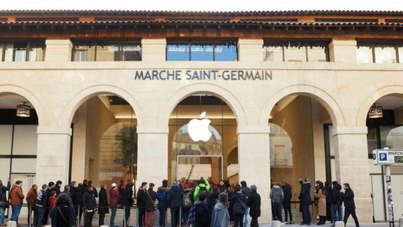 """Une boutique """"nouvelle génération"""" d'Apple à Paris"""