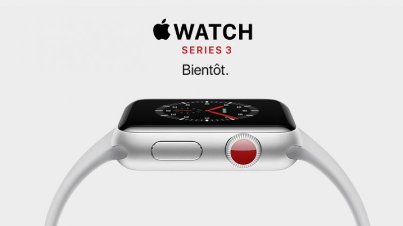 Apple Watch Series 3 : 5 euros/mois chez Orange pour bénéficier de toutes les fonctions