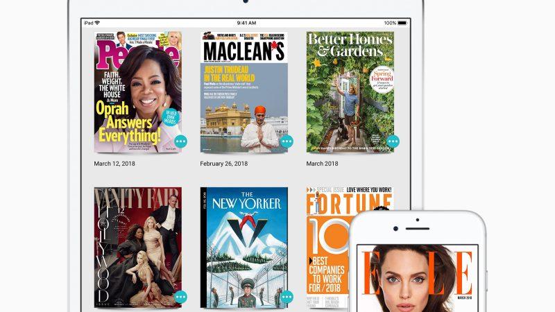 Apple s'offre le kiosque numérique Texture