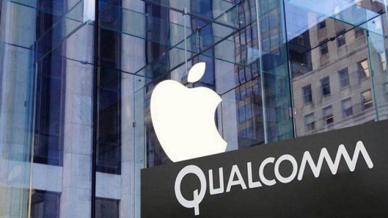Apple pense à exclure les composants Qualcomm de ses mobiles