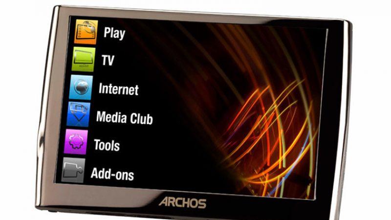 L'Archos 5 permet désormais de lire les vidéos Freebox