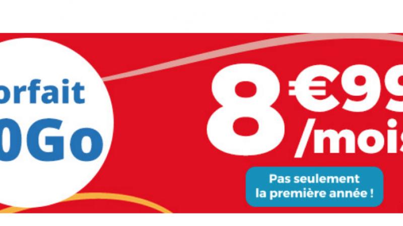 Auchan Telecom lance une série limitée 30 Go à 8,99€/mois à vie