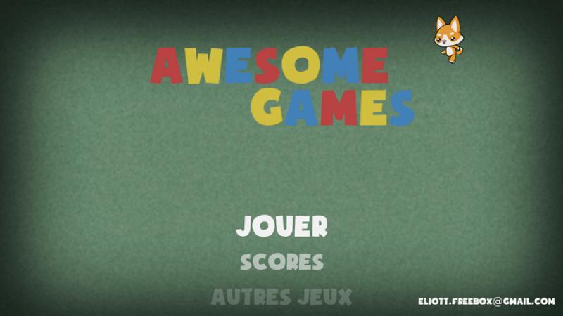 Nouveau : 50 mini-jeux sur votre Freebox Révolution avec Awesome Games