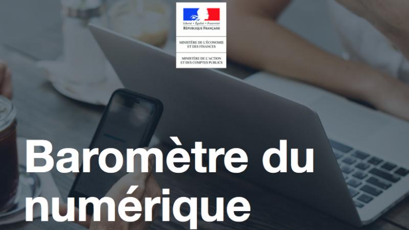 Baromètre du numérique  : 46% des Français se connectent à internet principalement via leur smartphone, l'écart se creuse avec le fixe