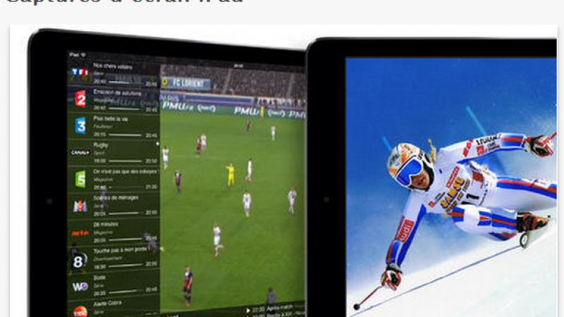 """Box'n Tv  intègre un navigateur internet et prévoit un mode """"Premium"""" sans publicité."""