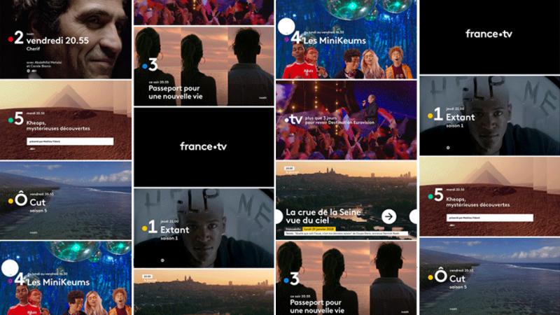 France Télévisions : top départ pour la nouvelle identité visuelle, les nouveaux logos débarquent