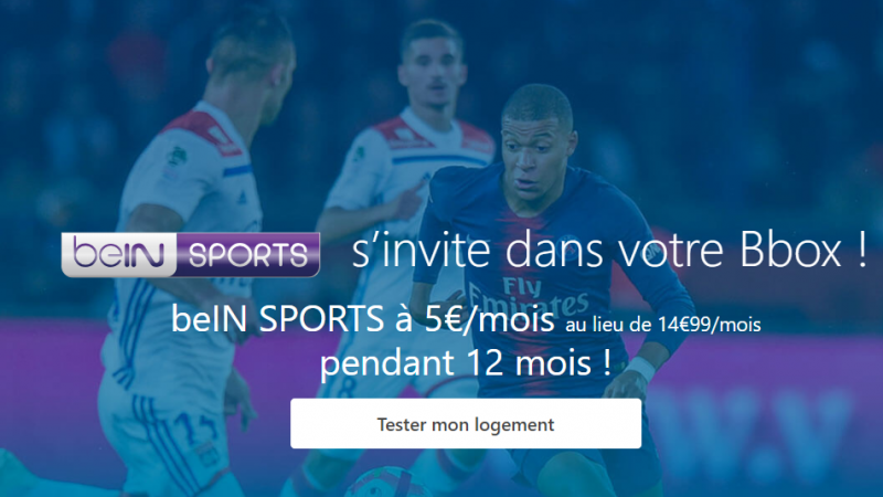 Bouygues Telecom : beIN Sports s'invite à bas prix dans deux offres Bbox