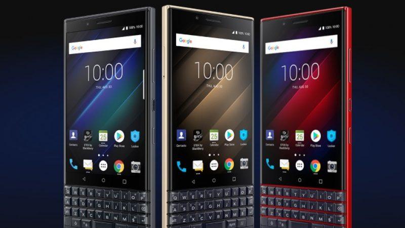 BlackBerry KEY2 LE : le nouveau smartphone Android doté d'un clavier physique débarque en France
