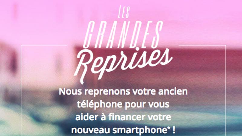 Bouygues Telecom propose actuellement un bonus reprise pour l'achat d'un smartphone