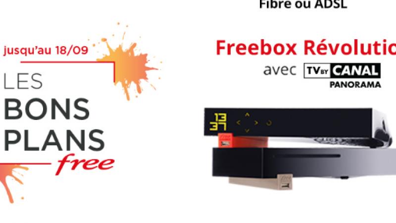 """Free prolonge à nouveau ses  """"Bons Plans"""" sur les offres Freebox"""