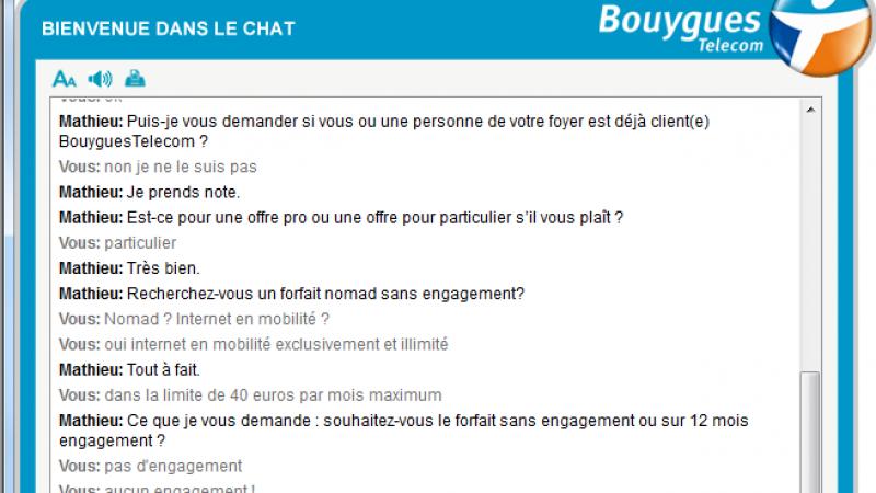 Enquête : les conseillers Bouygues Télécom annoncent des débits 4G hallucinants au delà du fair use