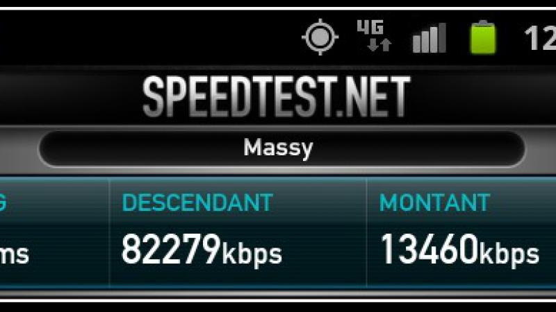 Des tests de débit en 4G pour SFR et Bouygues Télécom