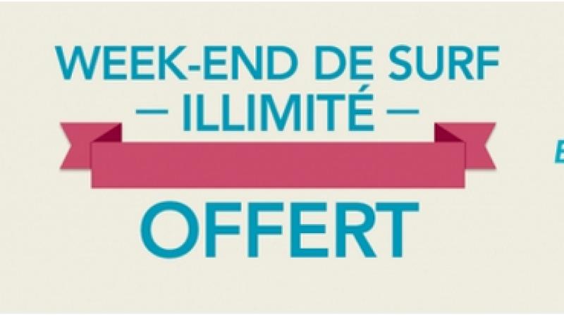 Nouveau week-end de surf illimité en 4G pour les abonnés Bouygues Télécom
