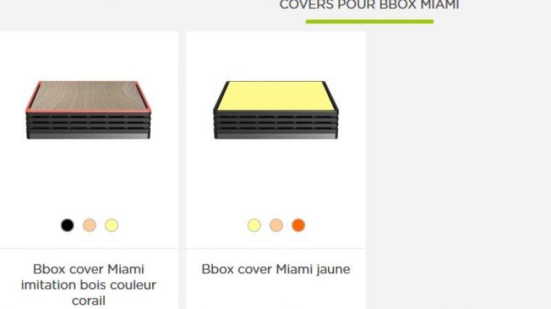 BouyguesTel tâcle la Freebox mini avec sa Bbox Miami et ses coques interchangeables : « Plus besoin de vouloir la cacher au fond d'un tiroir ! »