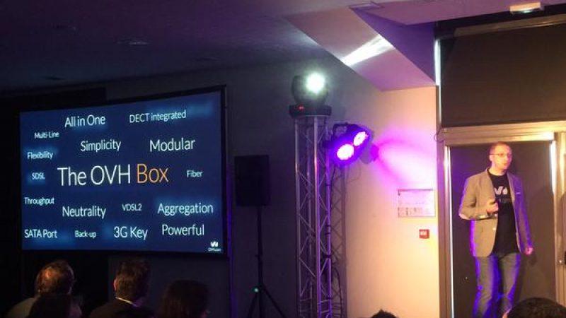 The OVH Box : une nouvelle box en préparation chez OVH
