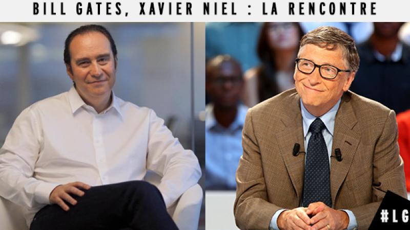 À suivre demain dans Le Grand Journal : la rencontre entre Xavier Niel et Bill Gates